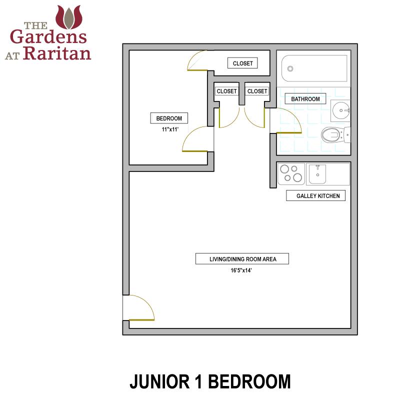 jr 1 bedroom